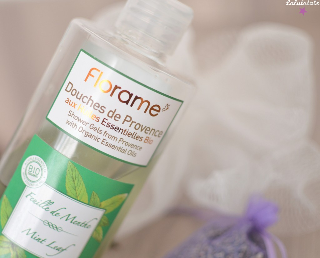 review Florame gel douche corps Provence menthe bio