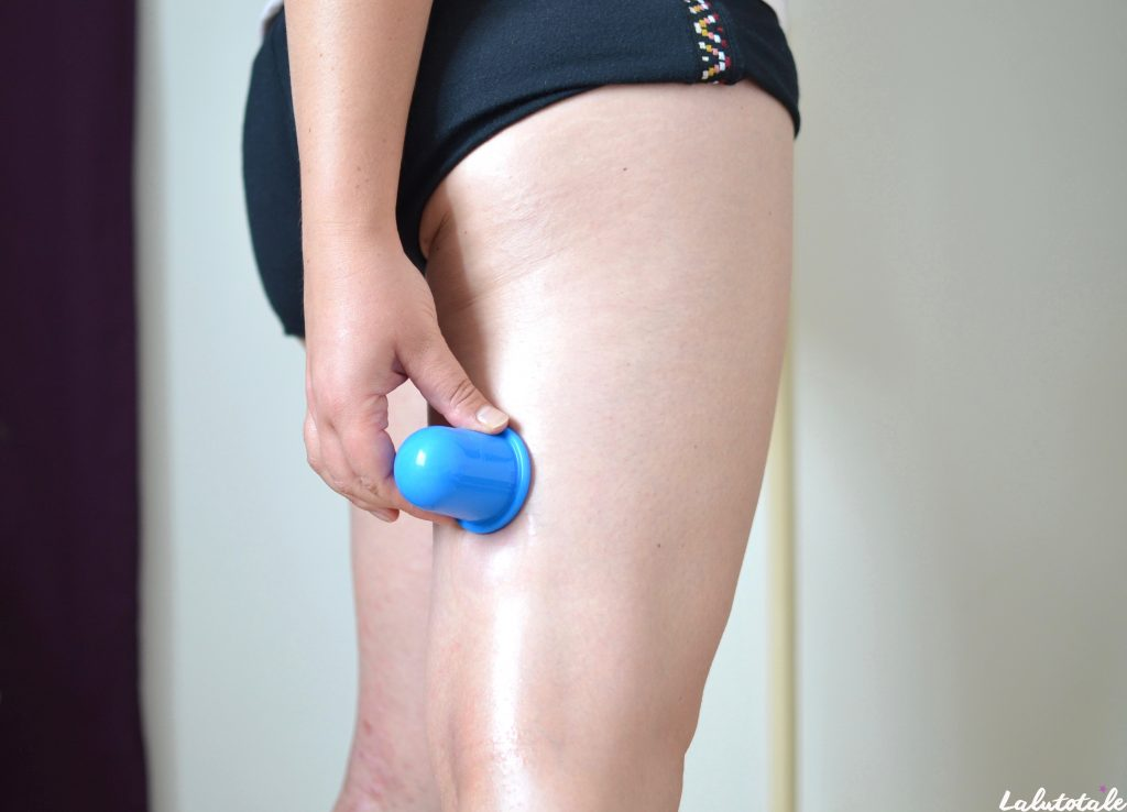 Cellublue ventouse anti cellulite capitons massage peau d'orange