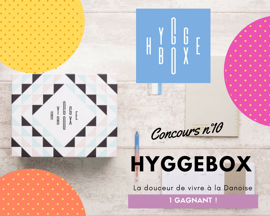 hyggebox box lifestyle hygge Danois