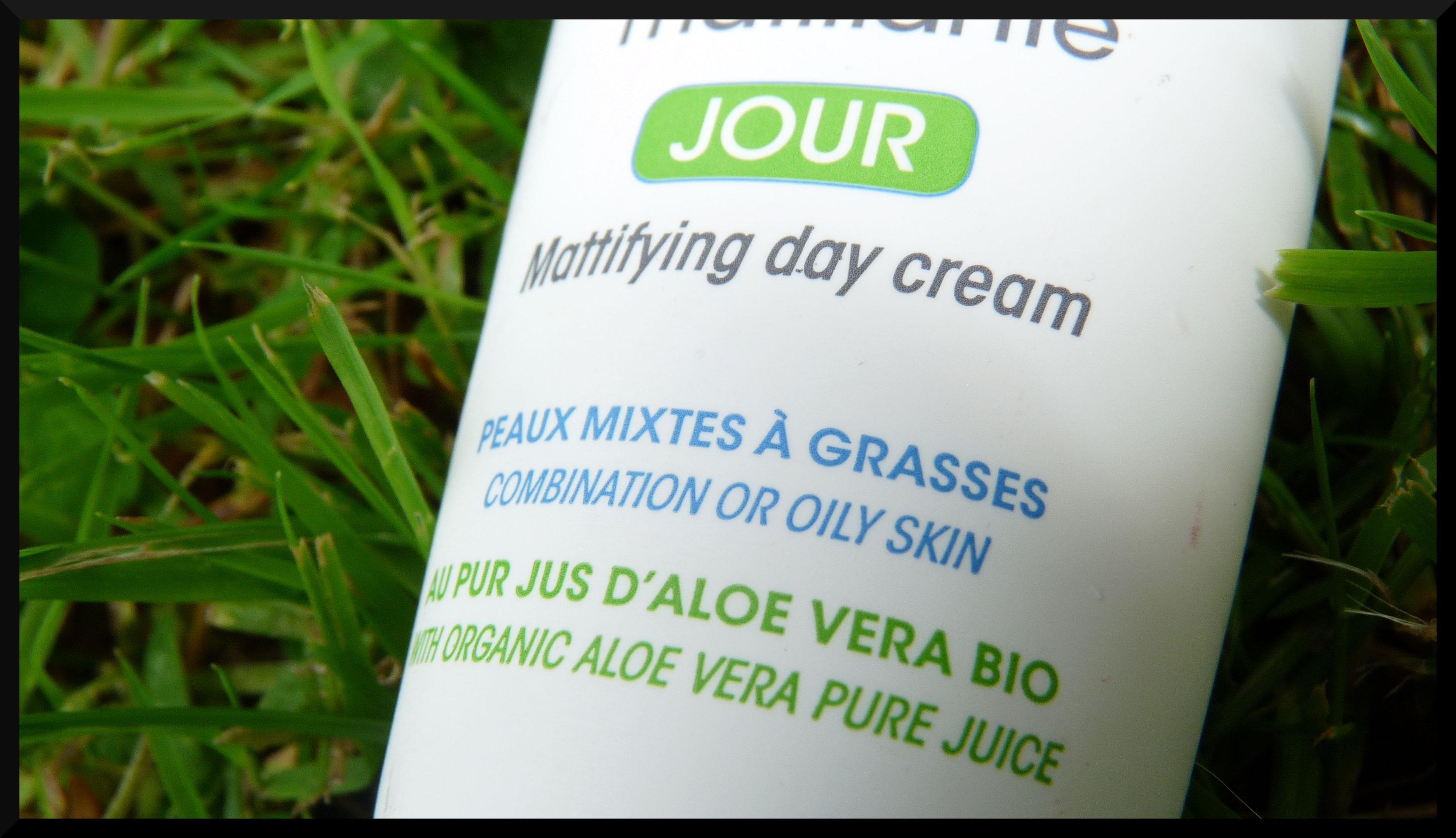 ( SO BIO ETIC ) Echec et matE avec la crème matifiante Hydra Aloe Vera ?