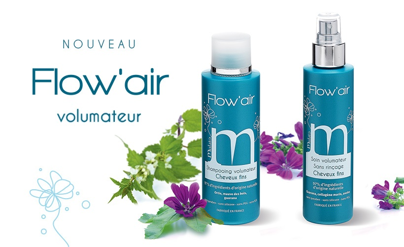concours Mulato Flow'Air gamme volumatrice cheveux fin