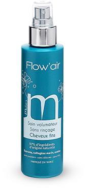mulato flow'air soin volumateur sans rinçage pour cheveux fins