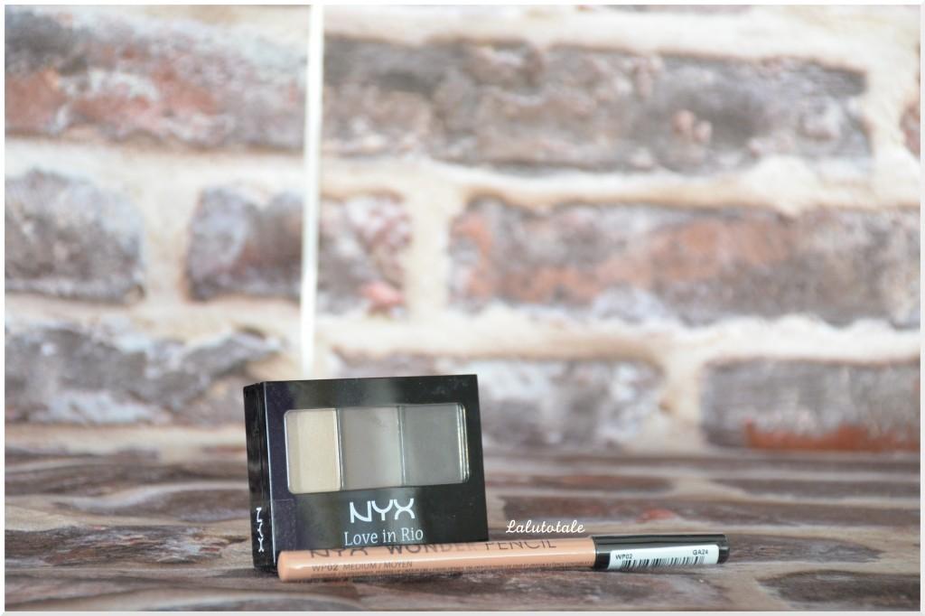 Haul nyx Cosmetics wonder pencil medium palette Love in Rio Voodoo Love spells