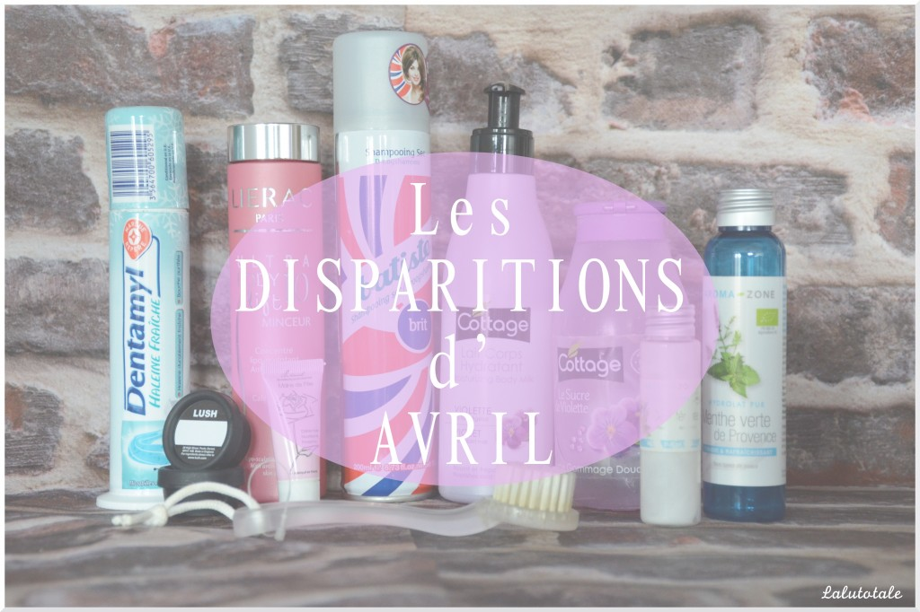 disparitions Avril