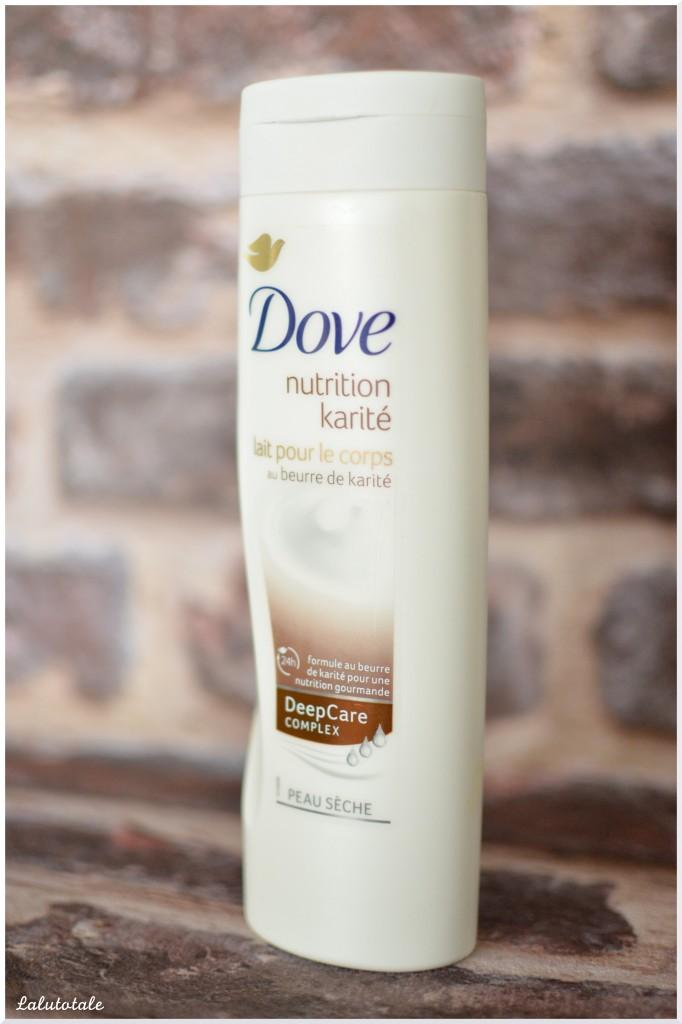 Dove lait pour le corps beurre de karité nutrition