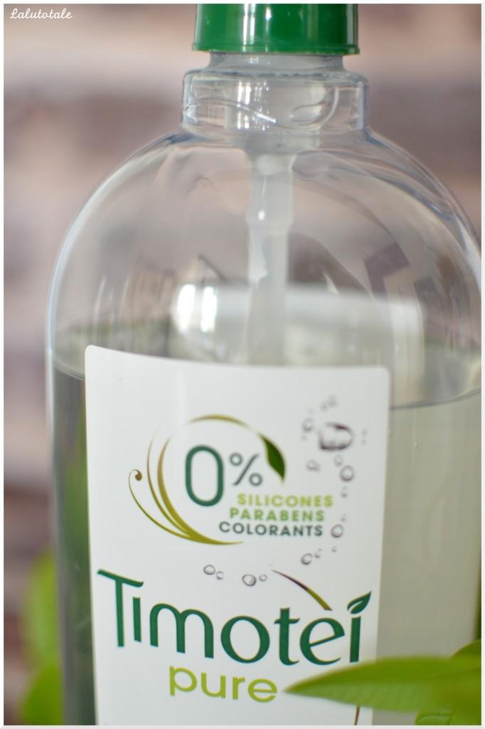 timoteí shampooing pure thé vert