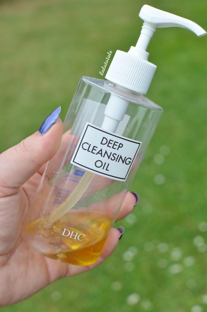 DHC huile pureté démaquillant review avis