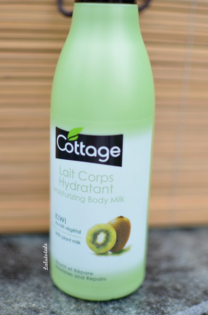 cottage lait corps hydratant kiwi