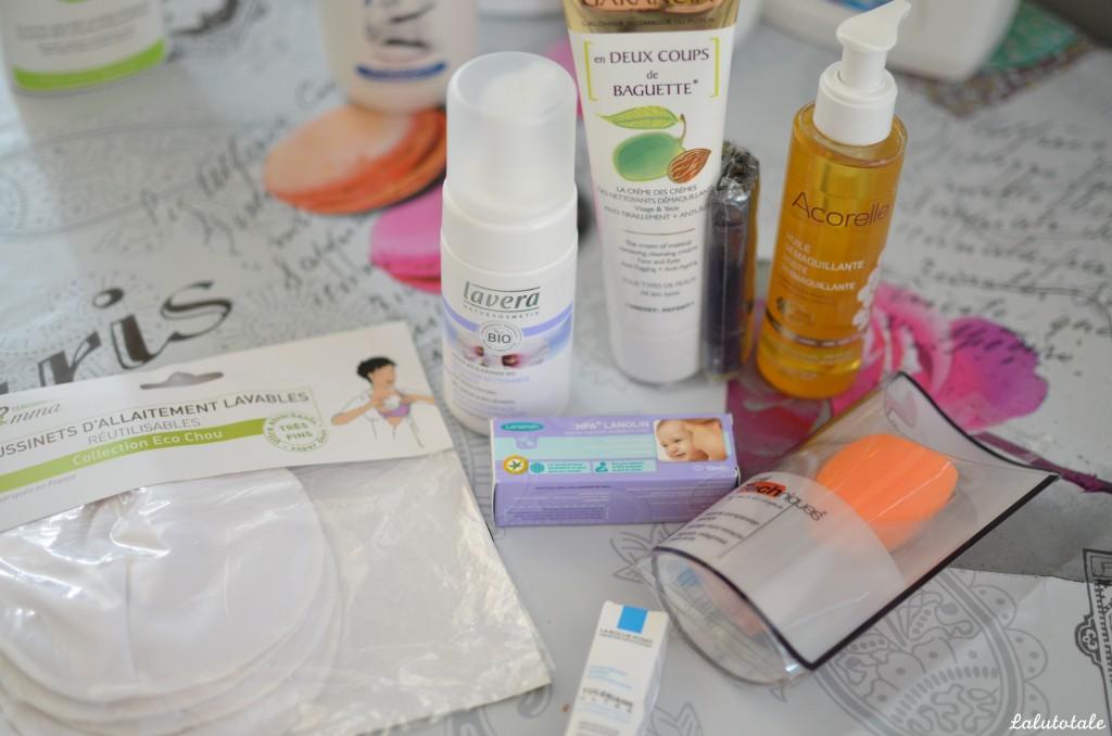 haul soldes été cosmétiques cosméto beauté hygiène Easyparapharmacie Lavera Garancia Tendances d'Emma Lansinoh Acorelle Real Techniques