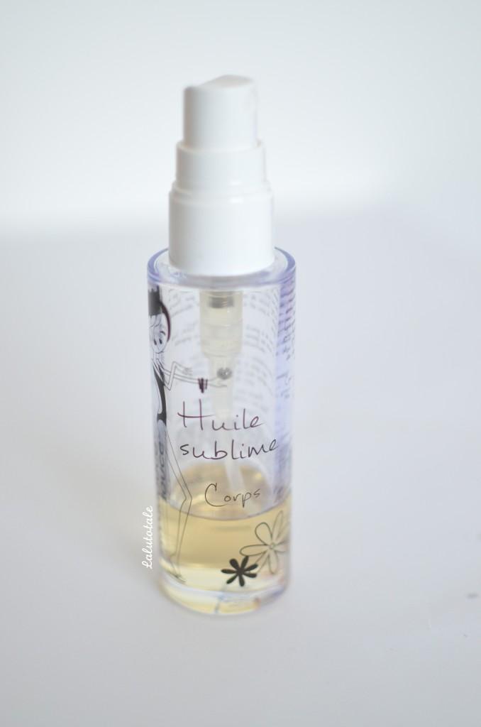 huile Sublime hydratante rivadouce