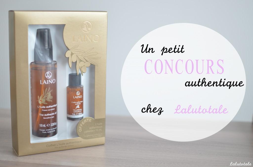 Review Laino coffret huile authentique pailletée concours gratuit