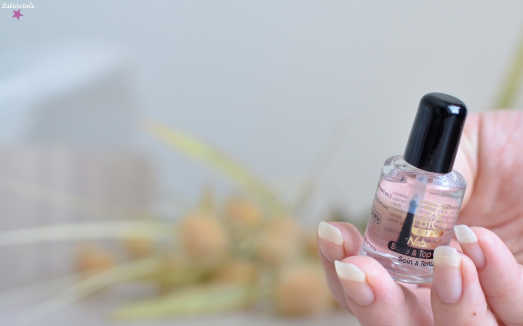 So'Bio Etic vernis Natural' naturel couleur soin biologique