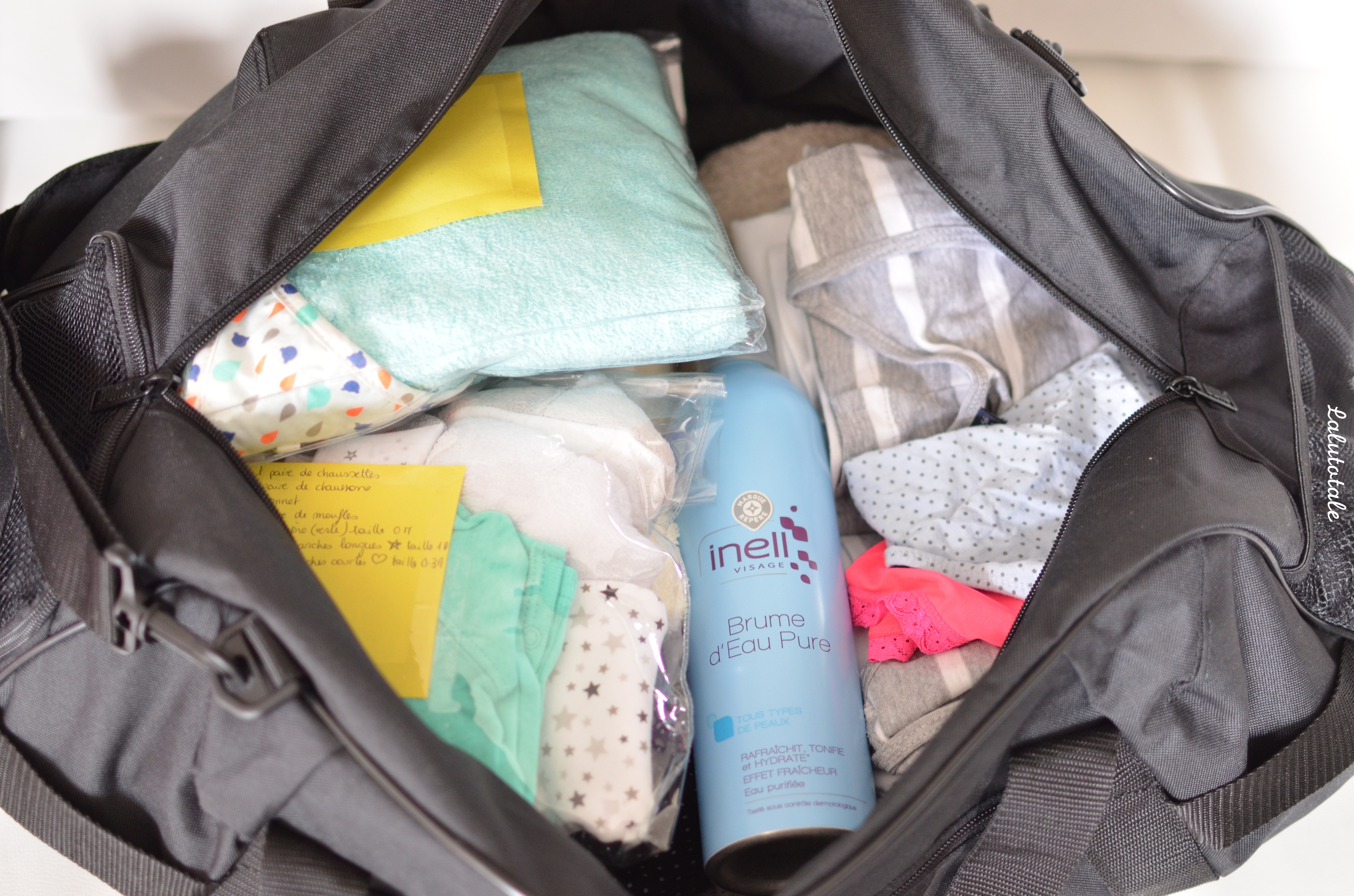 conseil valise maternité