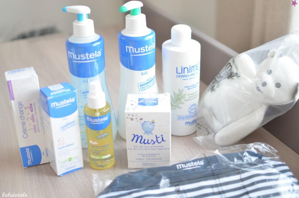 haul boîte à lettres partenaires partenariats été 2015 cadeaux tests MUSTELA kit bébé produits nourrisson