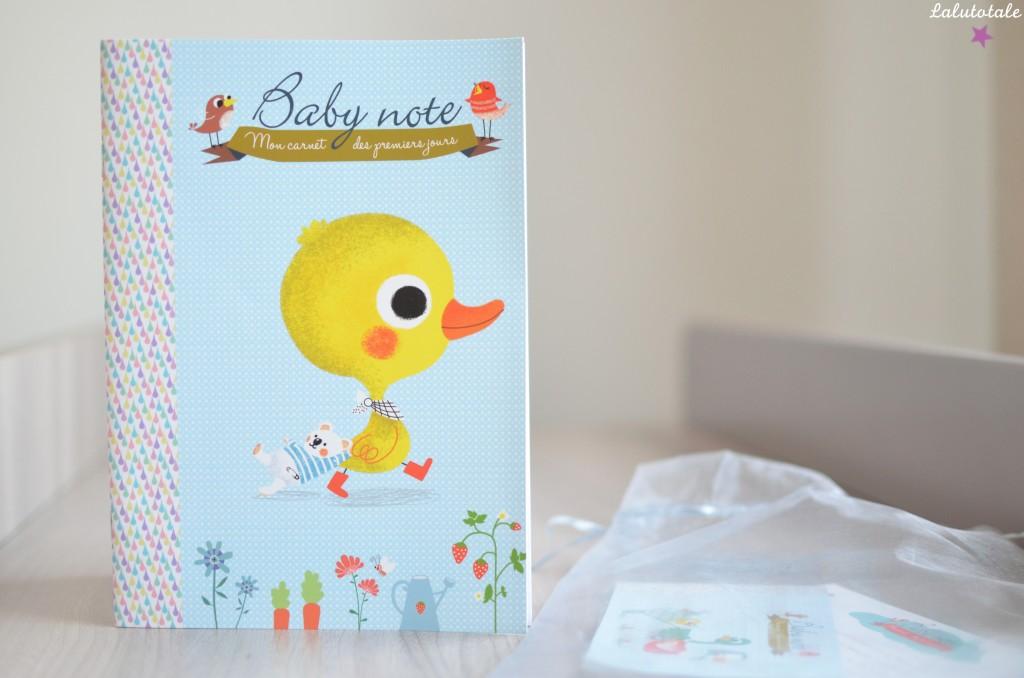 haul boîte à lettres partenaires partenariats été 2015 cadeaux tests baby note carnet nourrisson bébé
