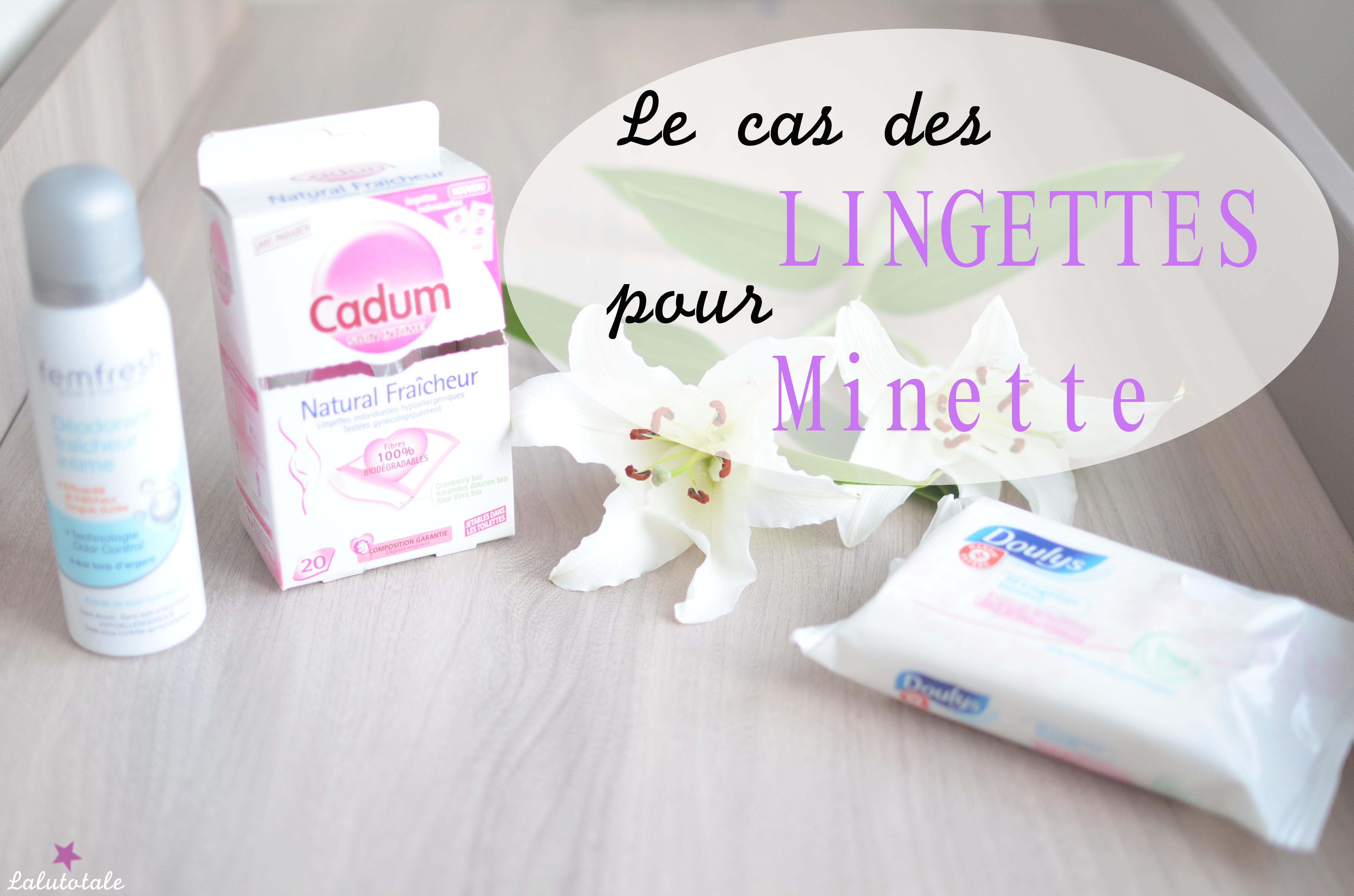 """L'hygiène de Minette : le cas """"épineux"""" des lingettes"""