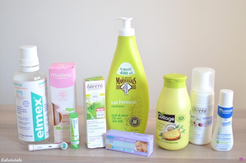 disparitions produits beauté cosméto septembre 2015
