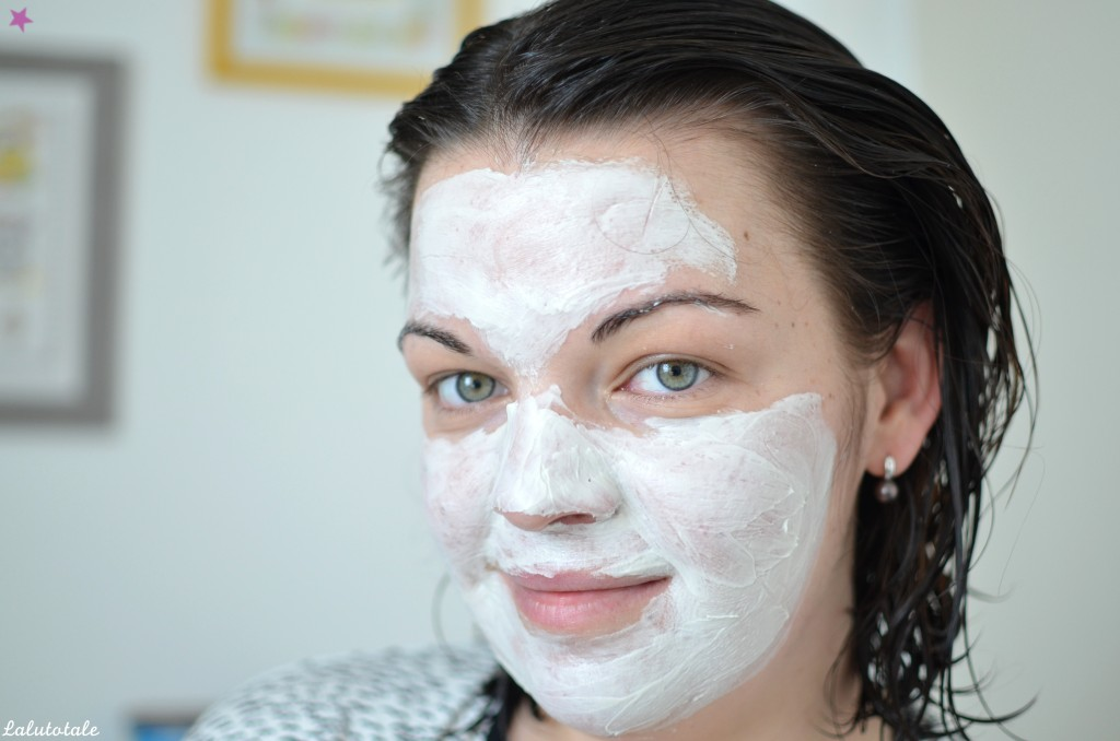 review masque à l'argile blanche bio Josiane Laure