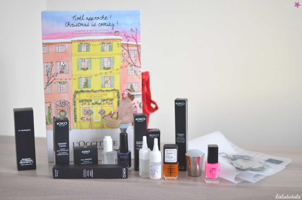 Haul boîte à lettres partenariats blog beauté Novembre 2015