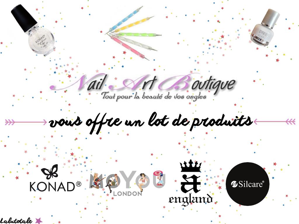 blog concours anniversaire gratuit NailArtBoutique ongles