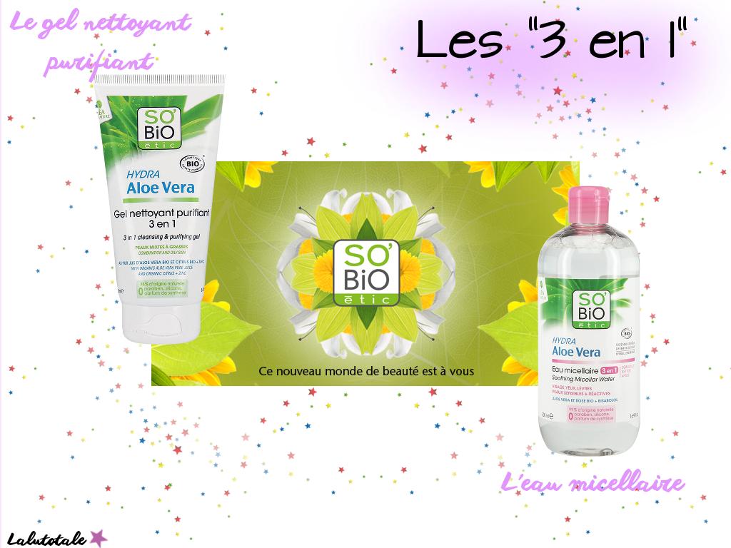 concours anniversaire blog blogueuse lot gratuit à gagner SO BiO ETIC Hydra aloe vera biologique