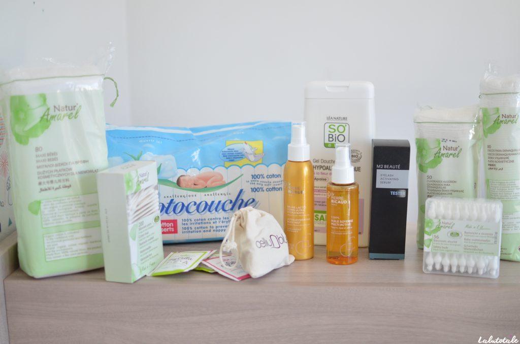 haul boite lettres produits cosmétiques juin juillet été