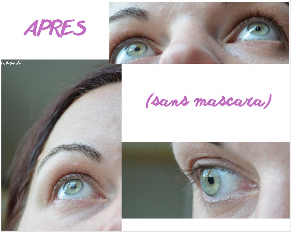 review revue avis beauté M2 Beauté Lashes croissance cils repousse