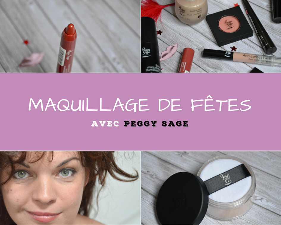 Maquillage Fêtes Peggy Sage make-up concours