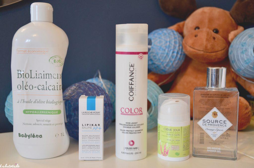 disparitions produits cosmétiques octobre 2016