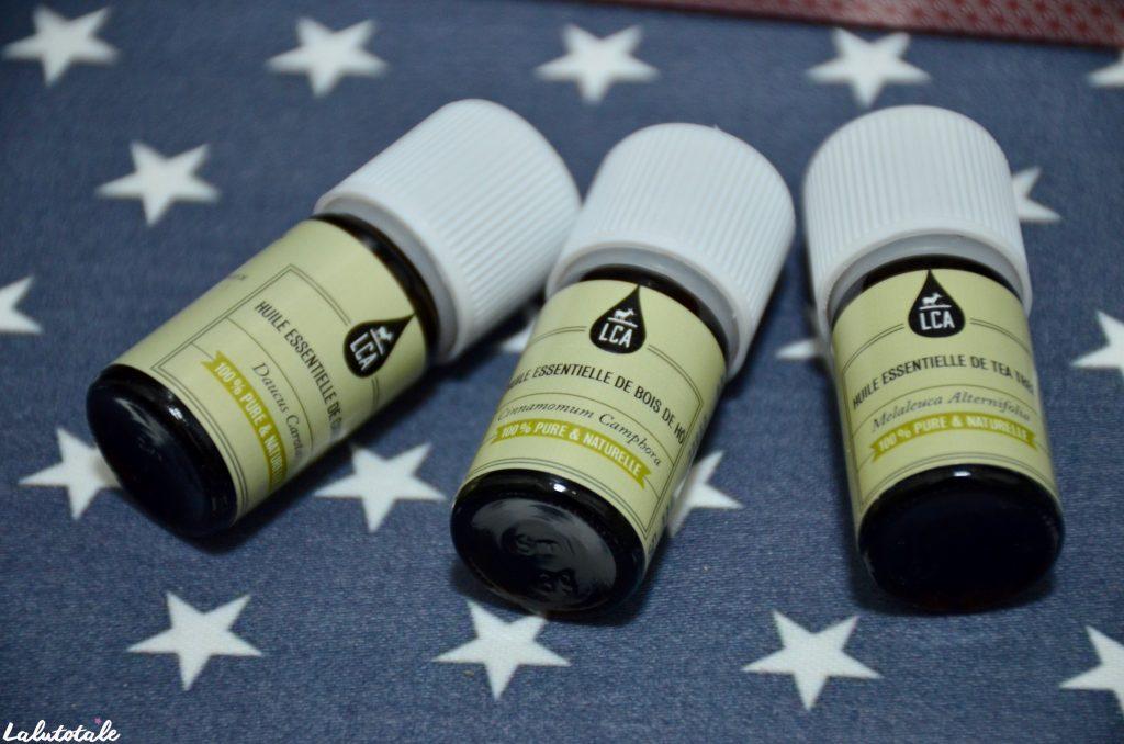 LCA Aroma coffret jolie peau huiles essentielles recettes soin