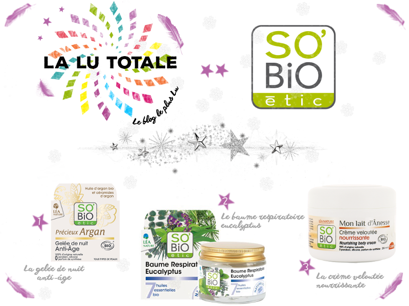 cosmétique bio concours beauté so'bio étic fêtes gratuit