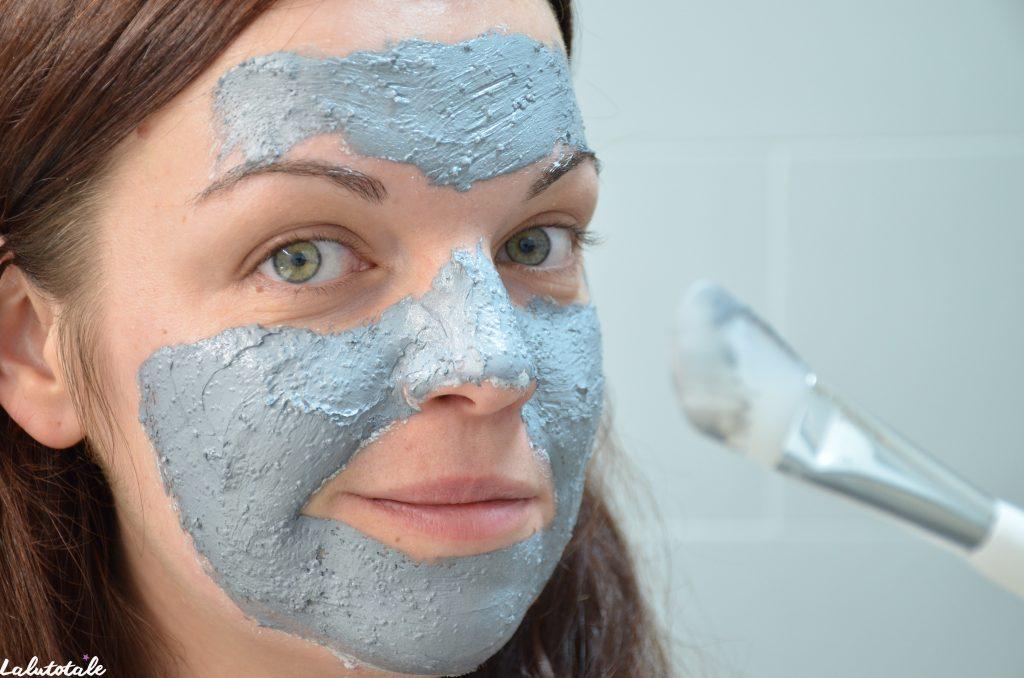 Séphora masque boue purifiant matifiant zinc cuivre visage