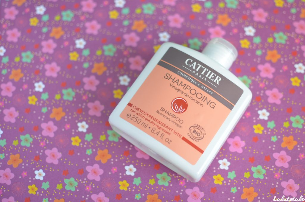 Cattier shampooing vinaigre romarin bio gras