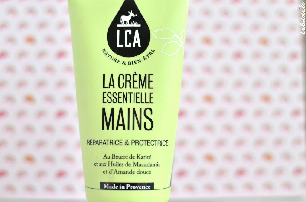 LCA Aroma crème essentielle mains réparatrice Provence