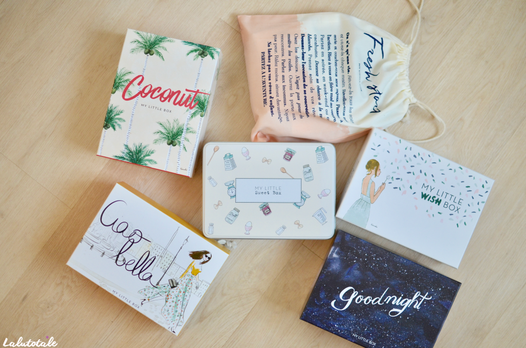 Mylittlebox box beauté lifestyle mensuel abonnement