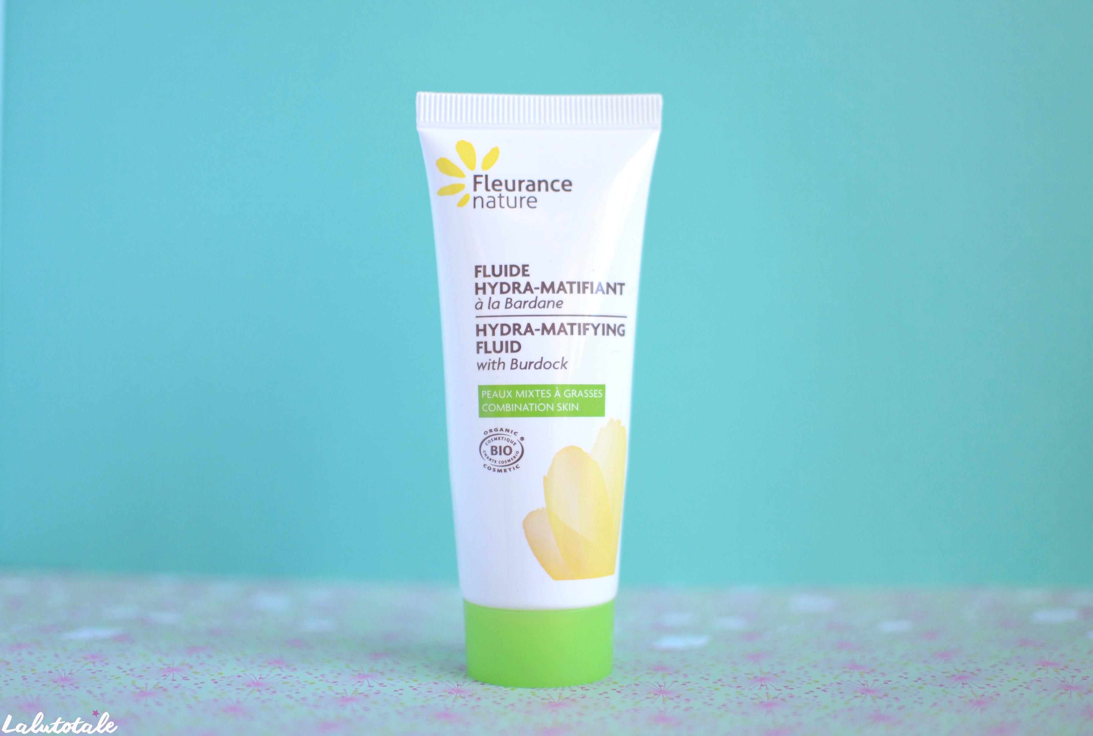( Fleurance Nature ) La bardane dans un fluide matifiant : la solution parfaite pour peaux mixtes ?