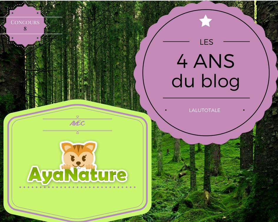 concours gratuit Ayanature produits beauté bio beurre cacao vegan Lamazuna