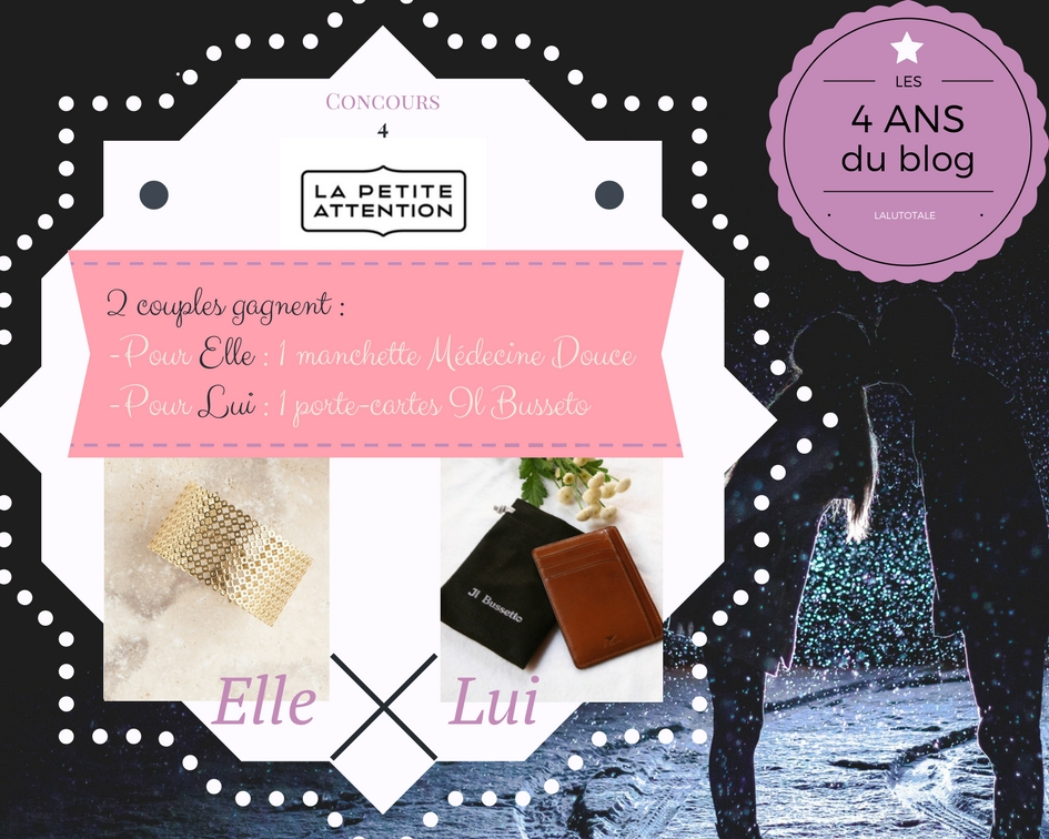 concours blog gratuit Lalutotale La Petite Attention anniversaire cadeau