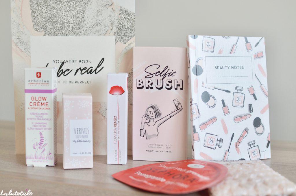 haul boite lettres produits cosmétiques mars printemps beauté