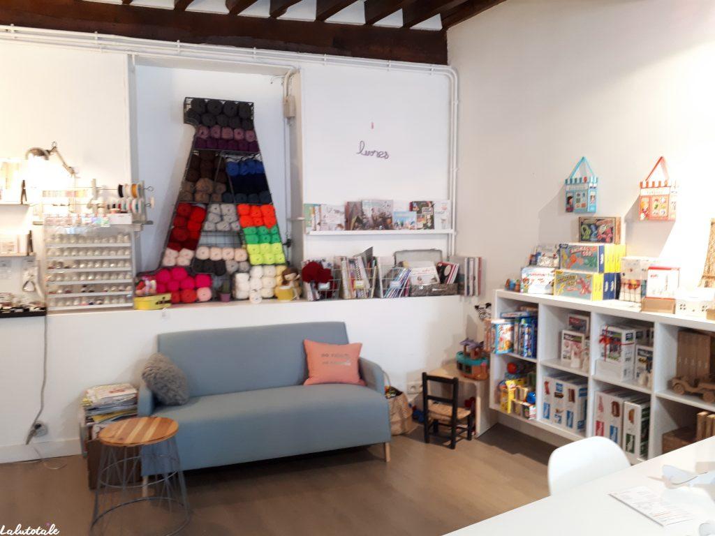 Atelier Archibald Bièvres loisirs créatifs boutique shopping déco création