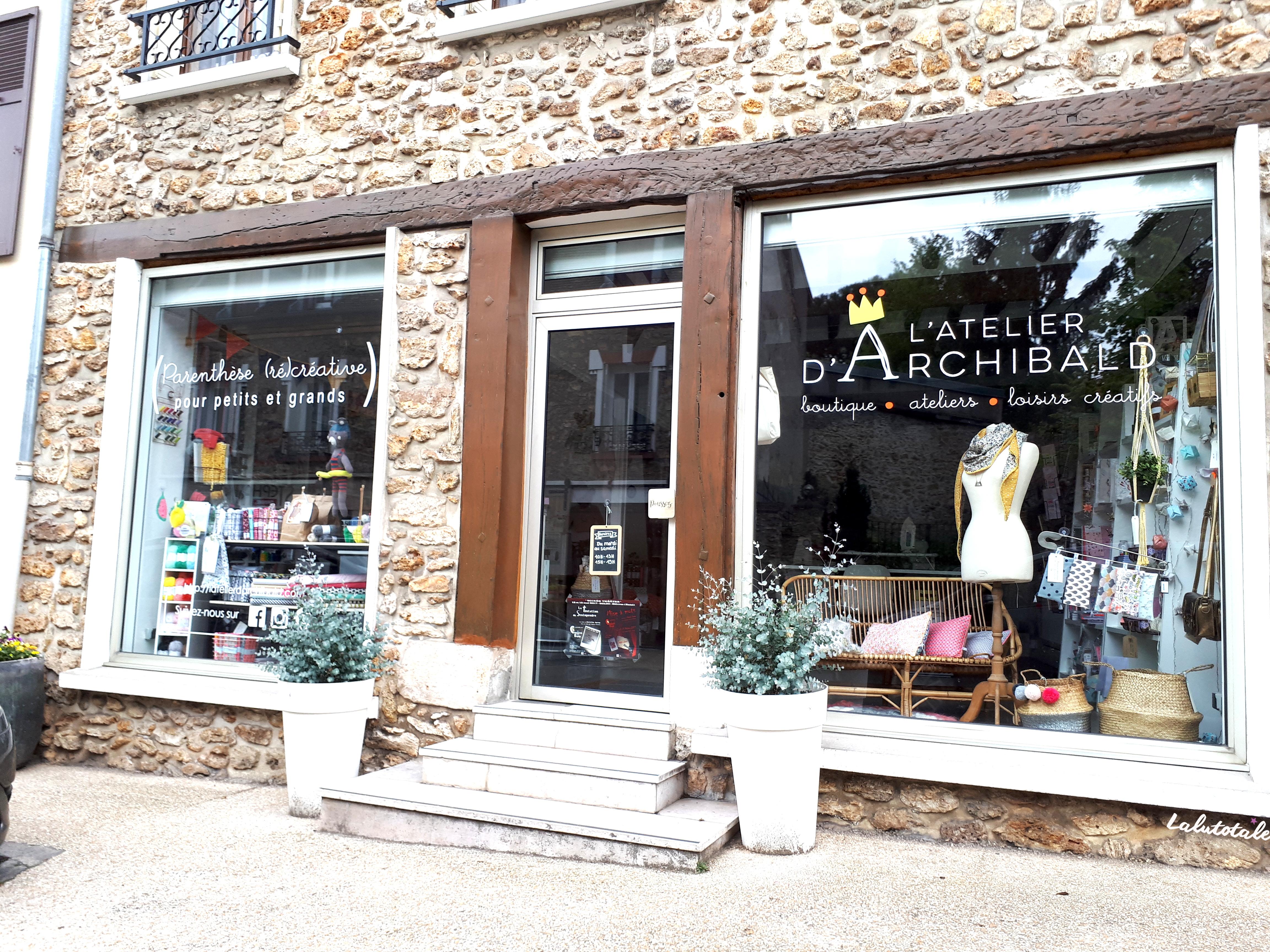 L'Atelier d'Archibald, la boutique (ré)créative pleine de bonnes ondes !
