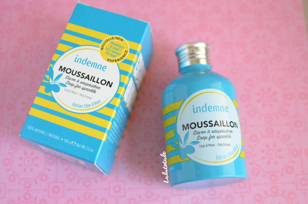 indemne Moussaillon savon corps mains saupoudrer poudre
