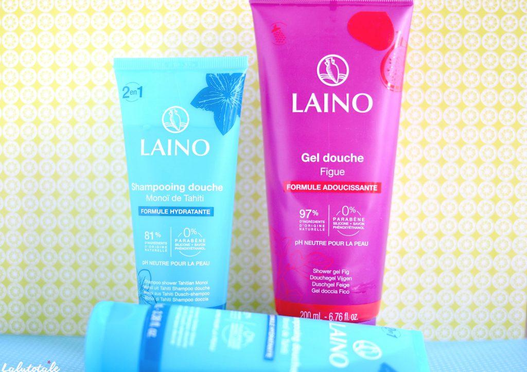 Laino gel douche figue shampooing monoï nouveau corps cheveux
