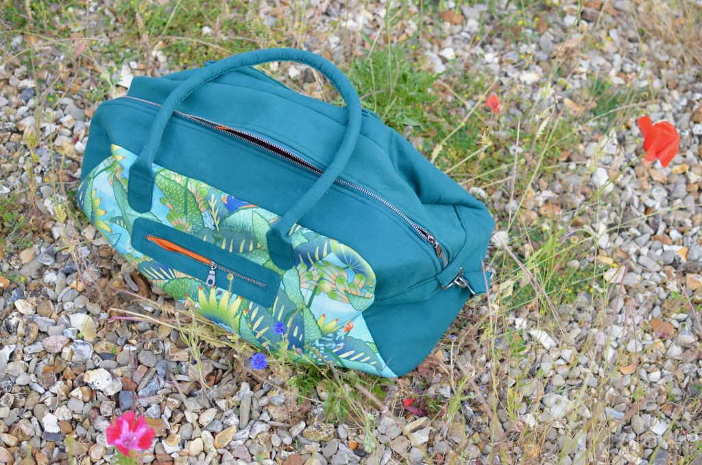 sac weekend Nature & Découvertes Oniric Tropic