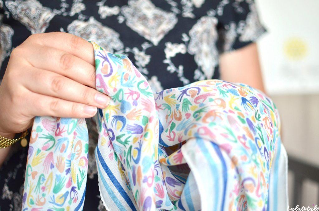 La Petite Attention Soi Paris Médecine douce manchette foulard cadeau femme