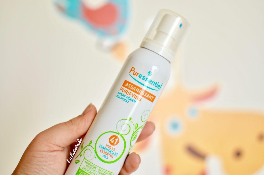 Puressentiel spray aérien assainissant huiles essentielles recettes maison hygiène