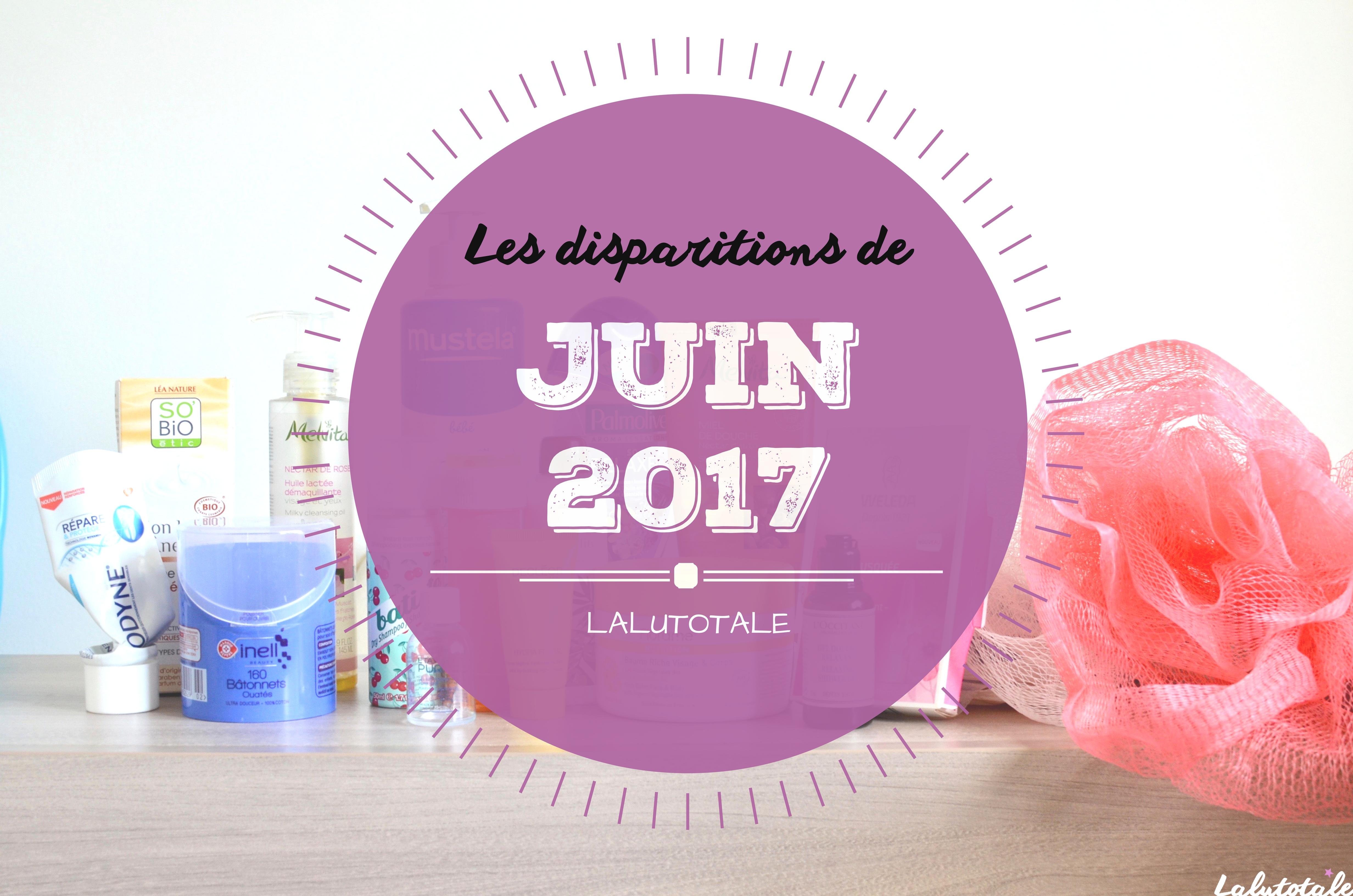 ✞ Les disparitions de Juin 2017 ✞