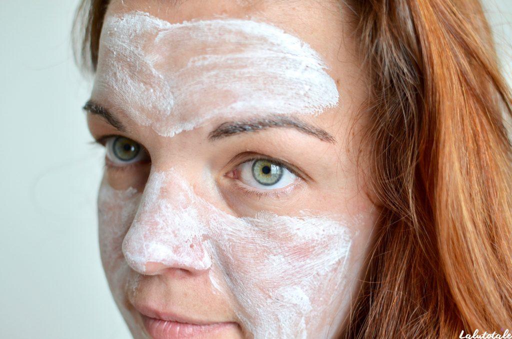 savon masque au lait de chevre