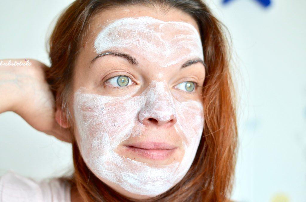 Maison Berthe Guilhem masque éclat visage lait de chèvre
