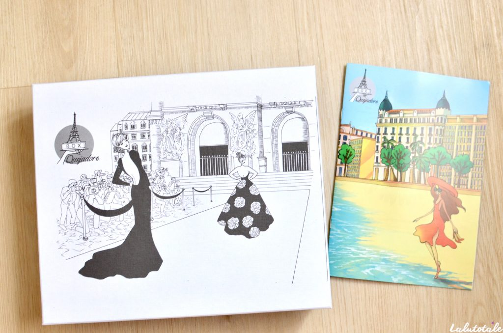 box Que J'adore Paris parisienne beauté lifestyle abonnement